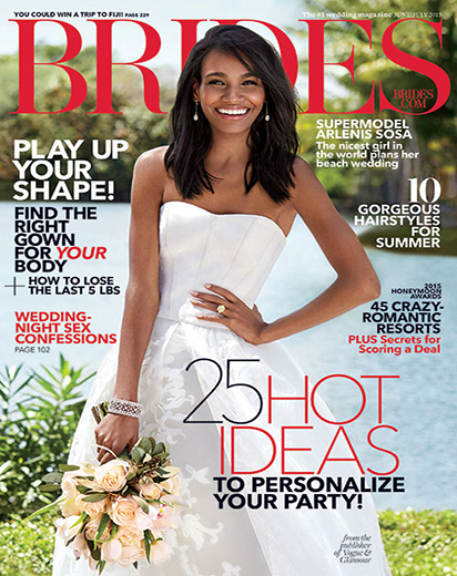 Brides July July 2015 Cover