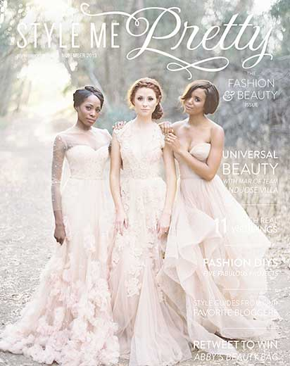 Style Me Pretty November 2013