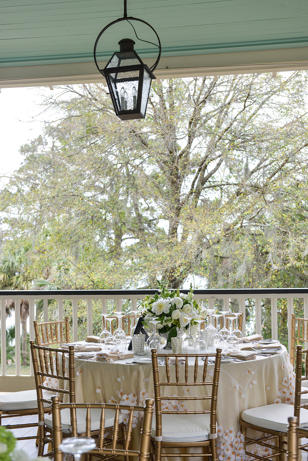 Seating Arrangements for a Wedding at Palmetto Bluff