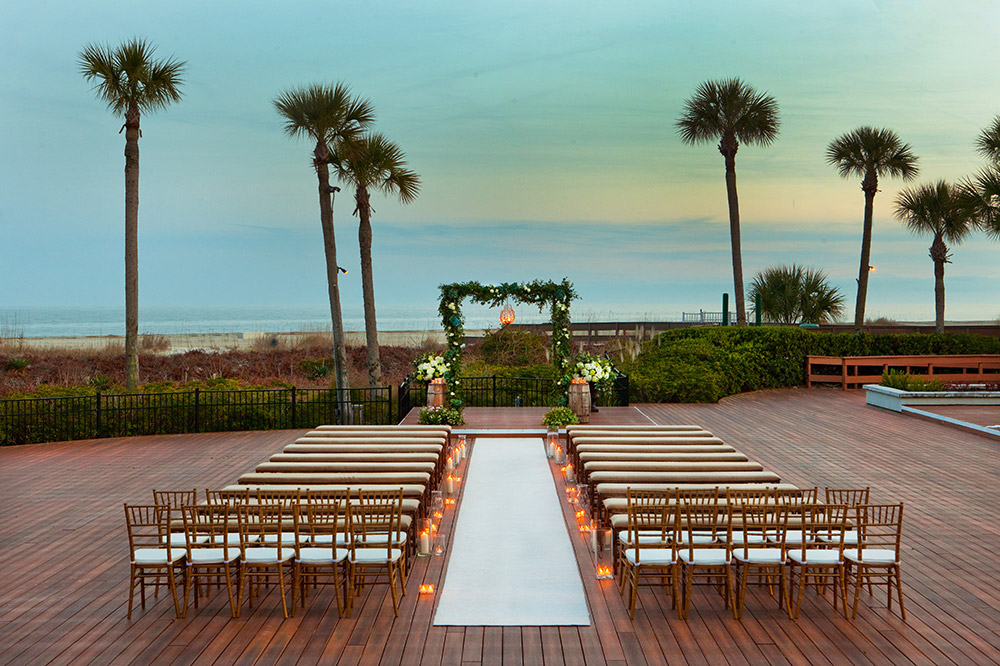 Westin Beach Wedding in Hilton Head