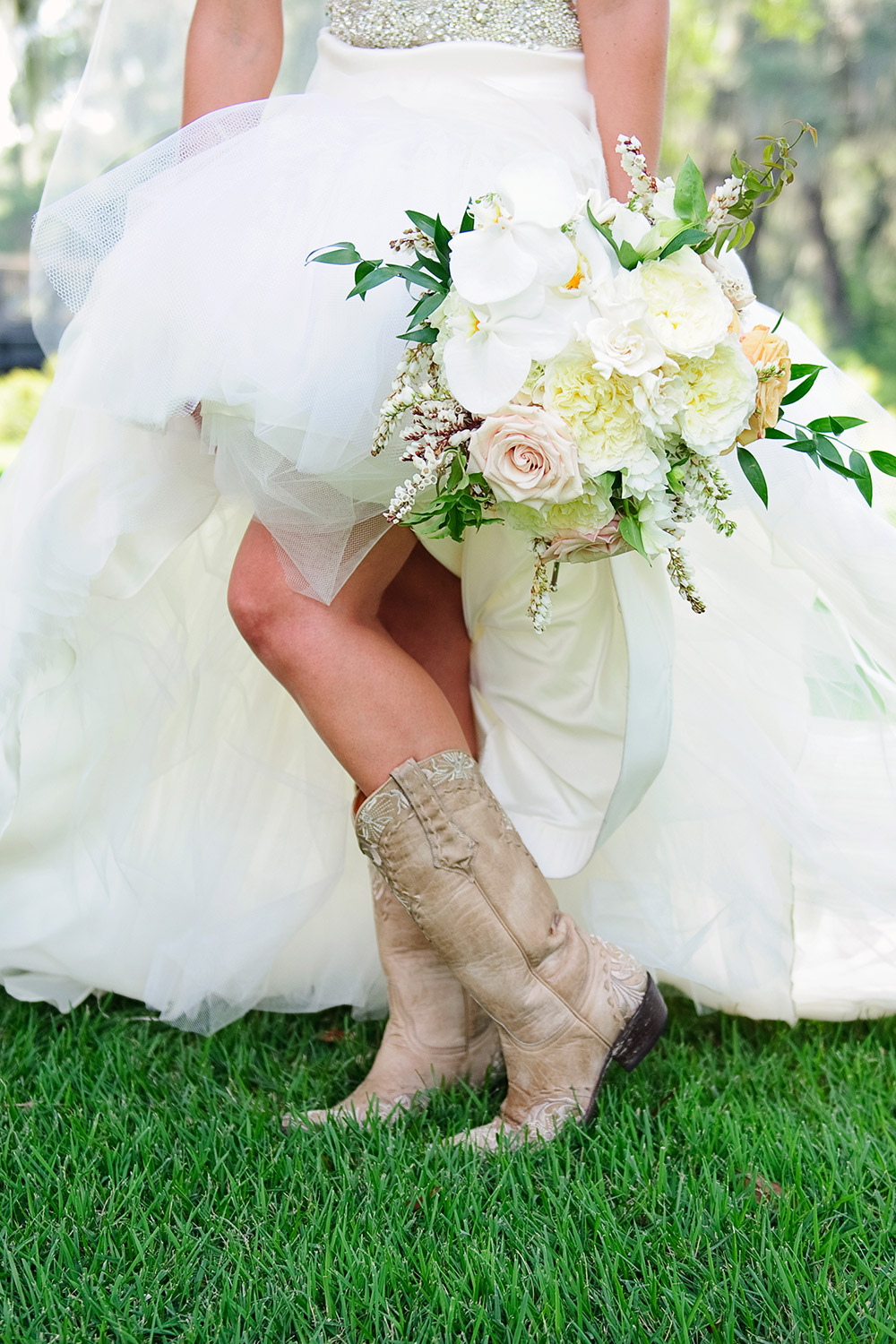 Palmetto Bluff Wedding Boots