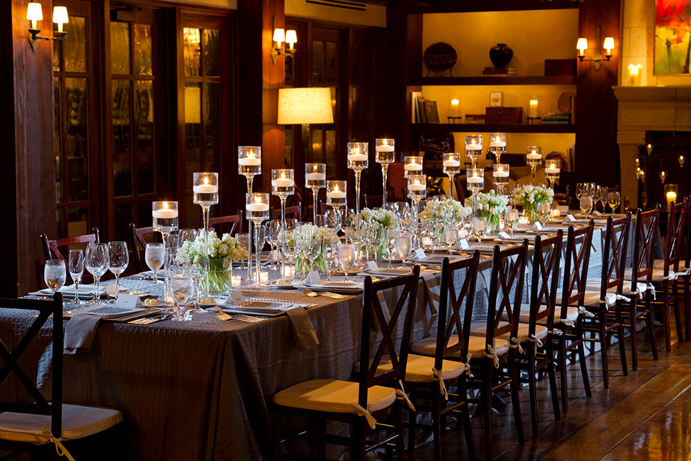 Table Scapes for Hilton Head Weddings