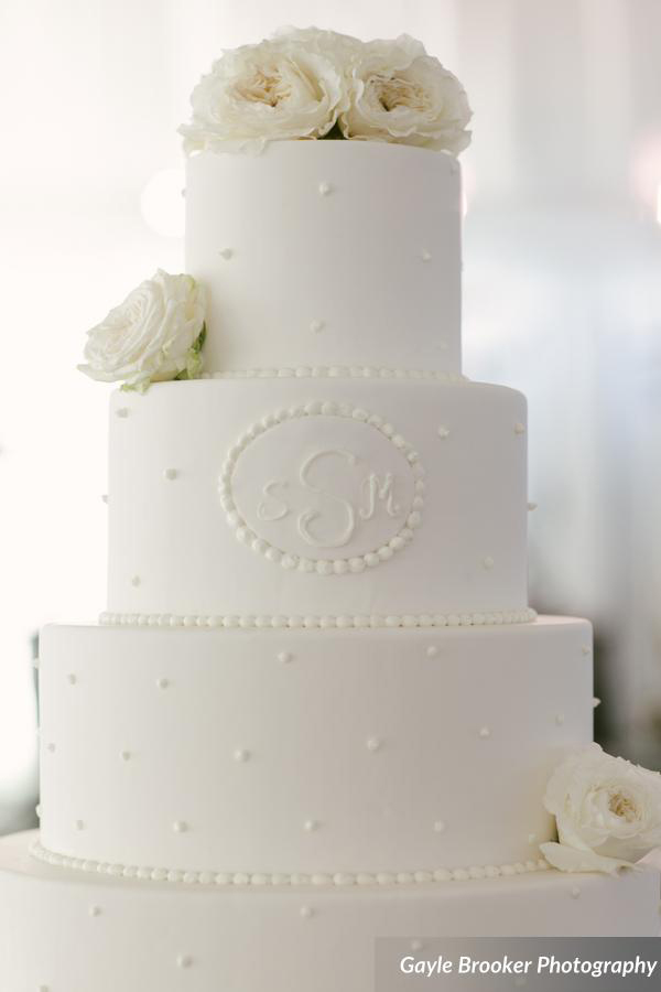 Palmetto Bluff Wedding Cake