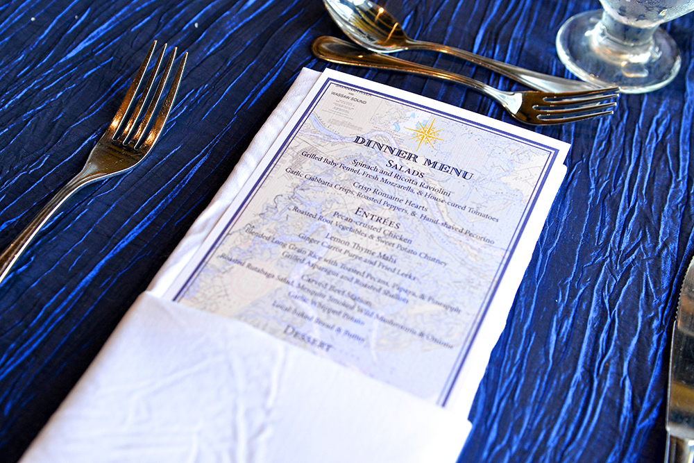 Savannah Wedding Menu by Kelli Corn