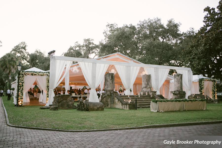 Palmetto Bluff Wedding Reception