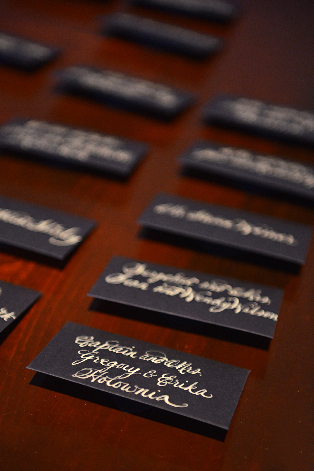 Thanksgiving Wedding Name Tags