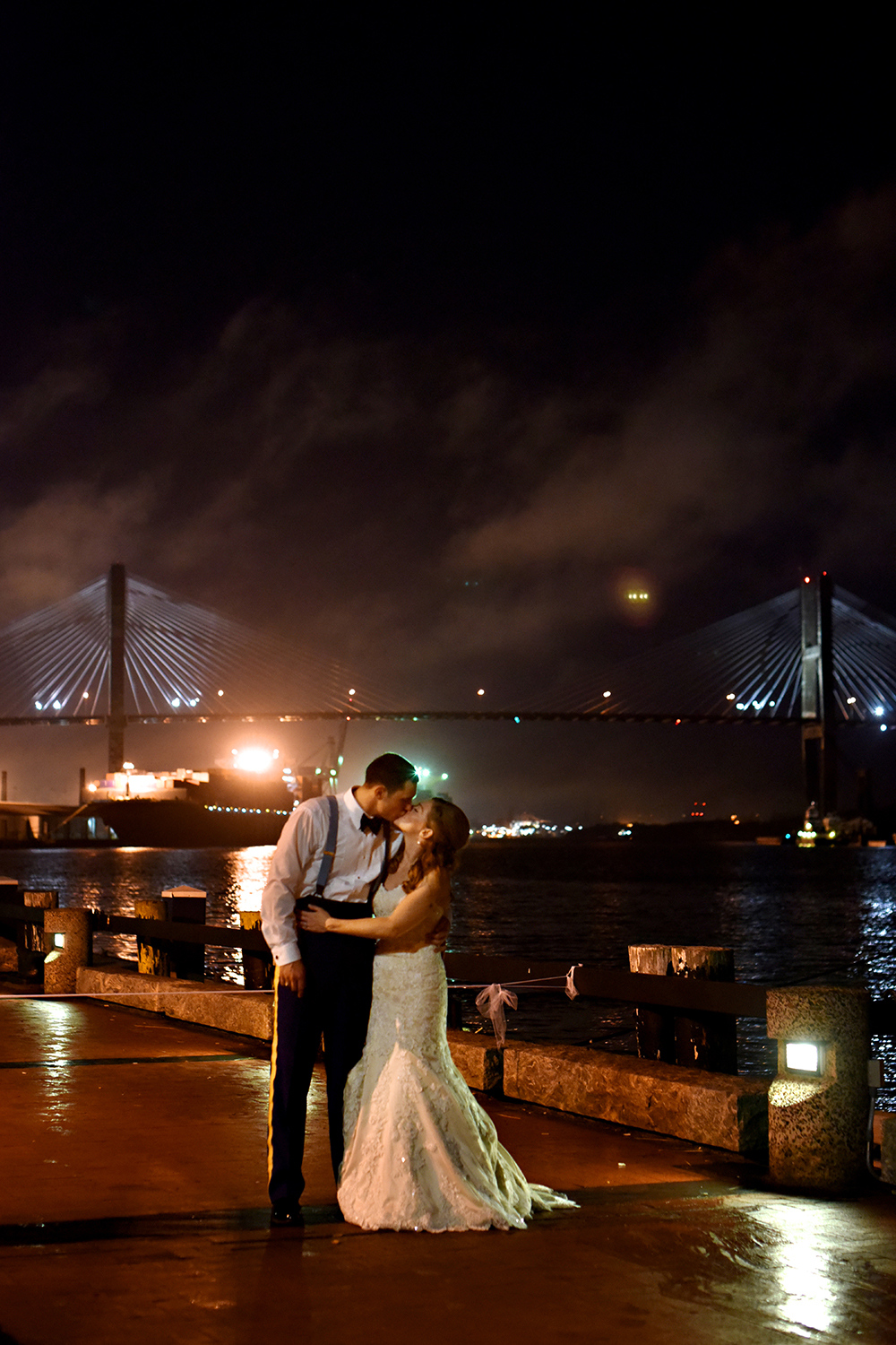 Savannah Wedding Night by Kelli Corn