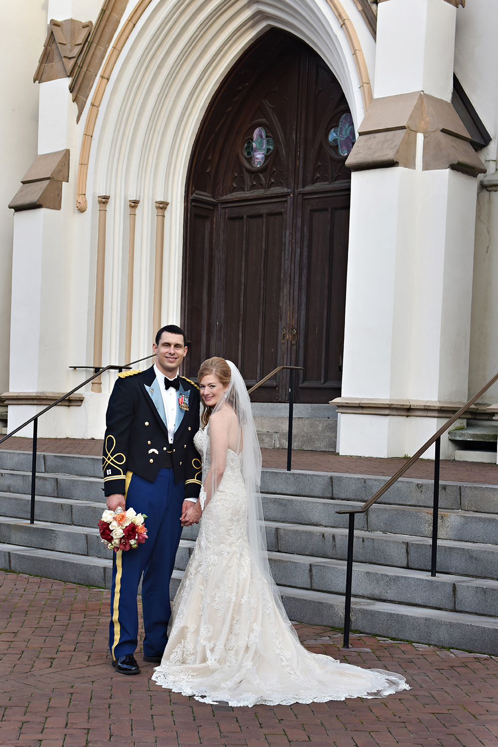 New Years Wedding Photo in Savannah