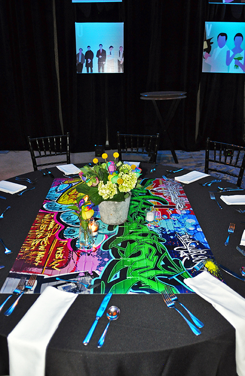 90s Party table decor (3)